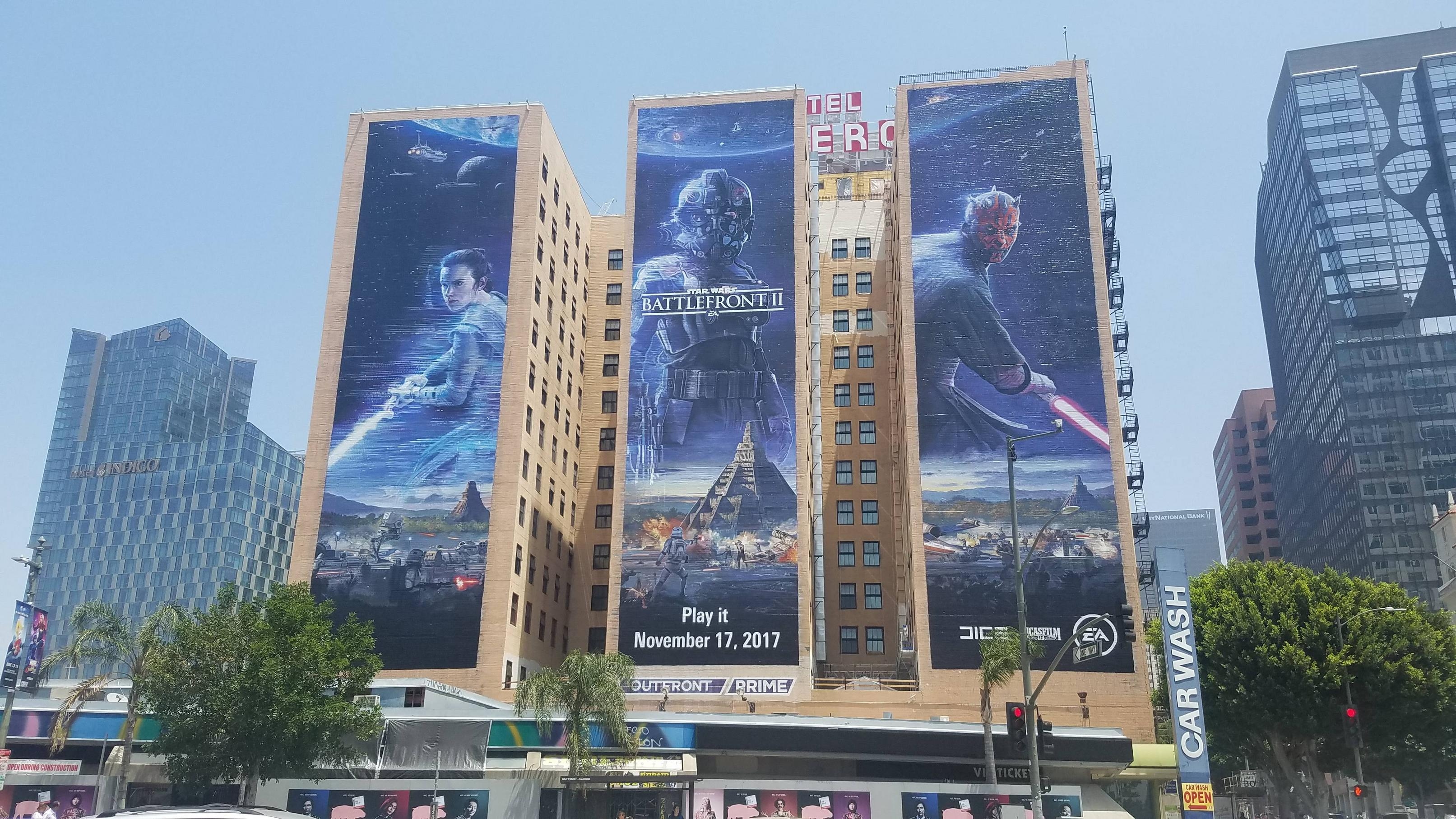 God Of War 4 Mural Almost Complete Star Wars Battlefront