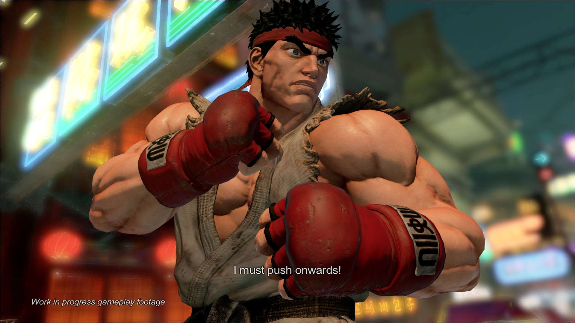 Street Fighter V Direct Feed Screenshot