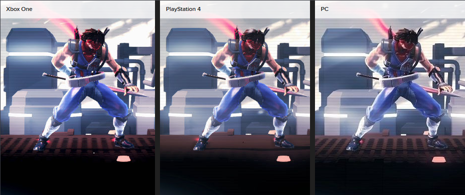 Strider PS4 AF Issue Screenshot