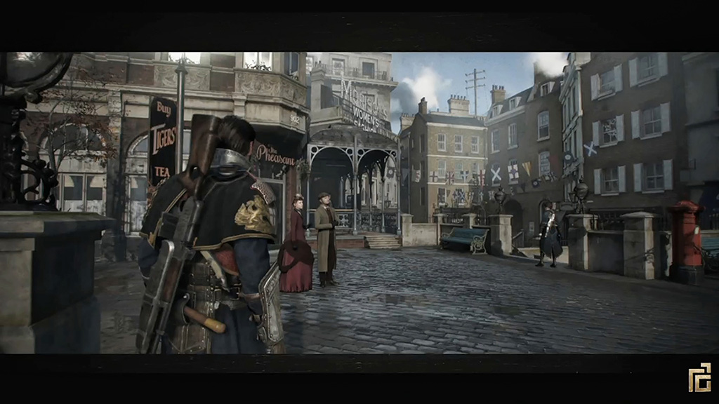 The Order 1886 City Amp Lycans Screens Were Not Concept