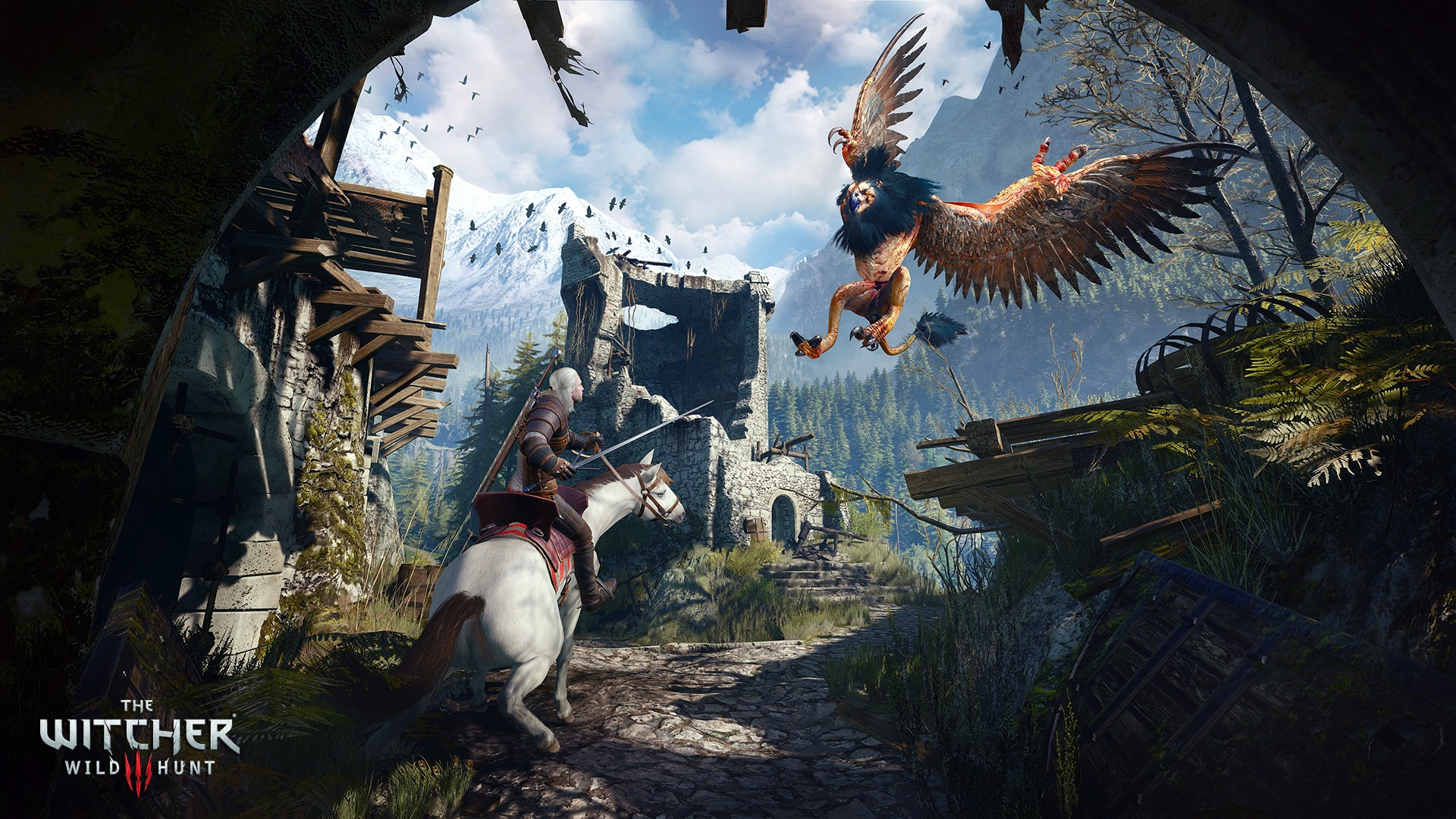 The Witcher 3: Wild Hunt The Royal Griffin Monster