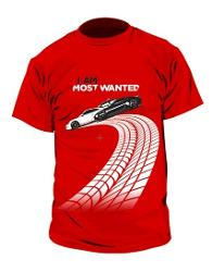 Need for Speed Most Wanted T Shirt