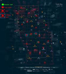 The Division: Dark Zone Map With DivTech, Lootcrates and Bosses