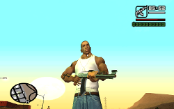 GTA San Andreas CJ VA Was Luck