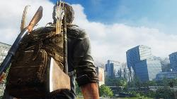 Joel Character Model In The Last of Us PS3 version