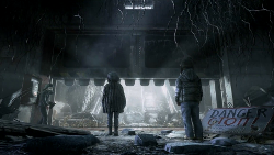 Metro Redux PS4 Comparison Screenshot 3