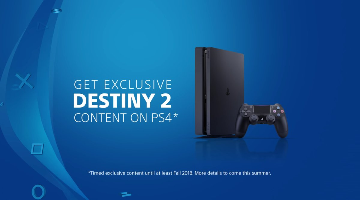 Destiny 2 Timed Exclusive Content For PlayStation 4