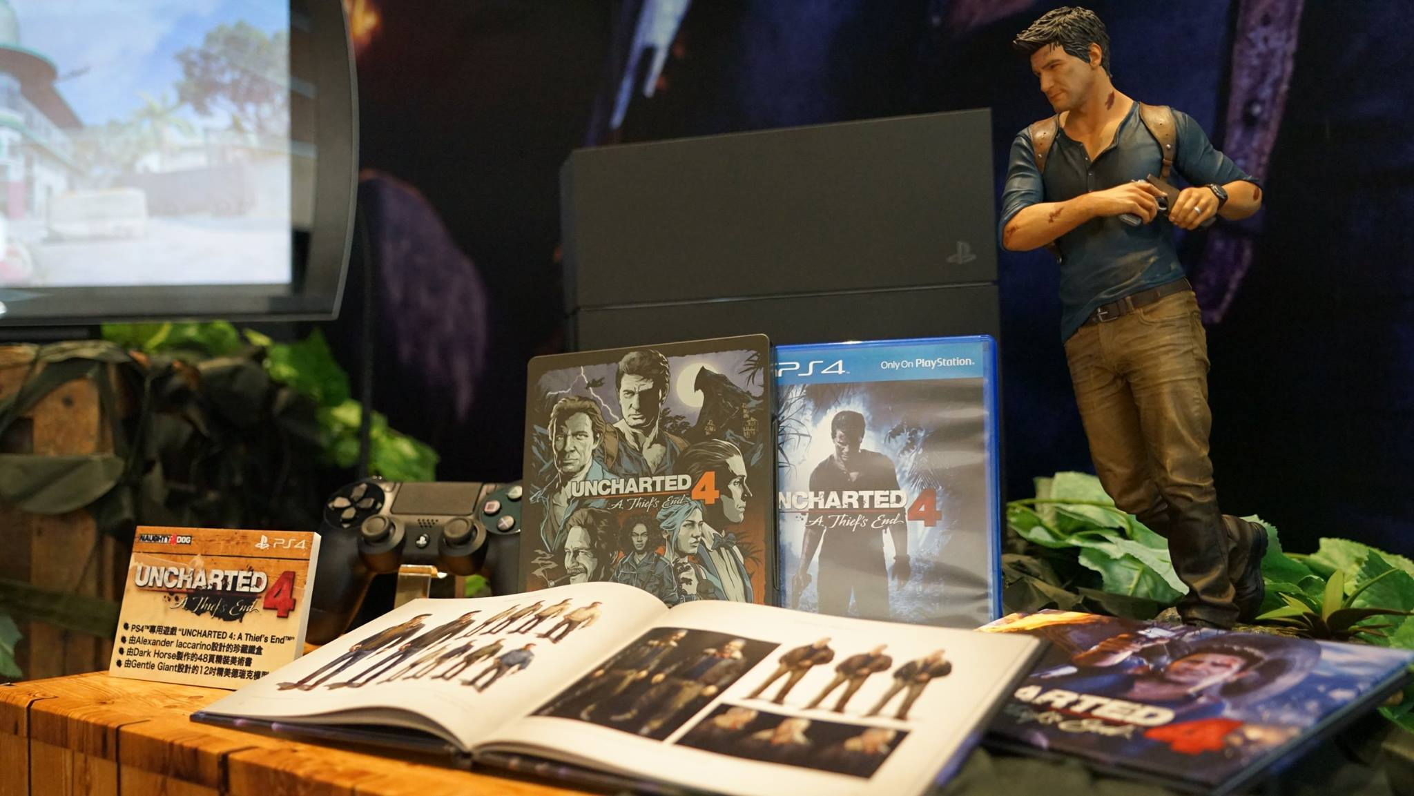 Uncharted 4: Libertalia Edition Closer Shot Shows All The ...