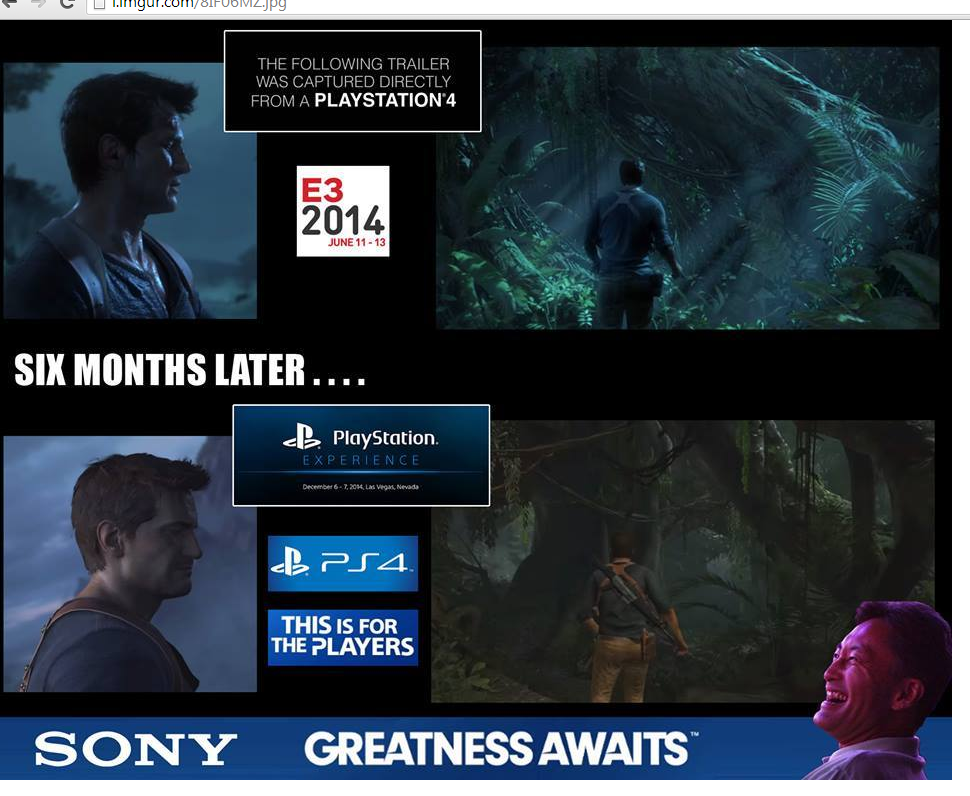 Uncharted 4: A Thief's End E3 2014 vs PSX Gameplay Demo