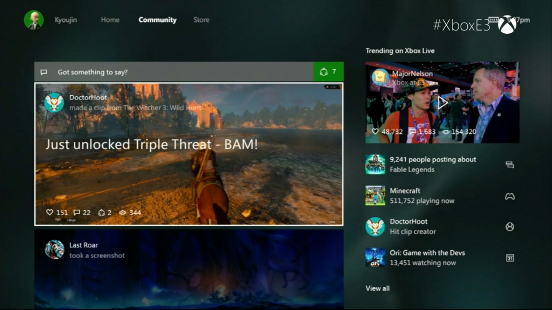 Xbox One New Dashboard User Interface Screens And Video Preview Released Quot It S Completely