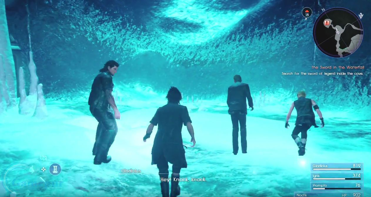 how to open locked doors in final fantasy xv