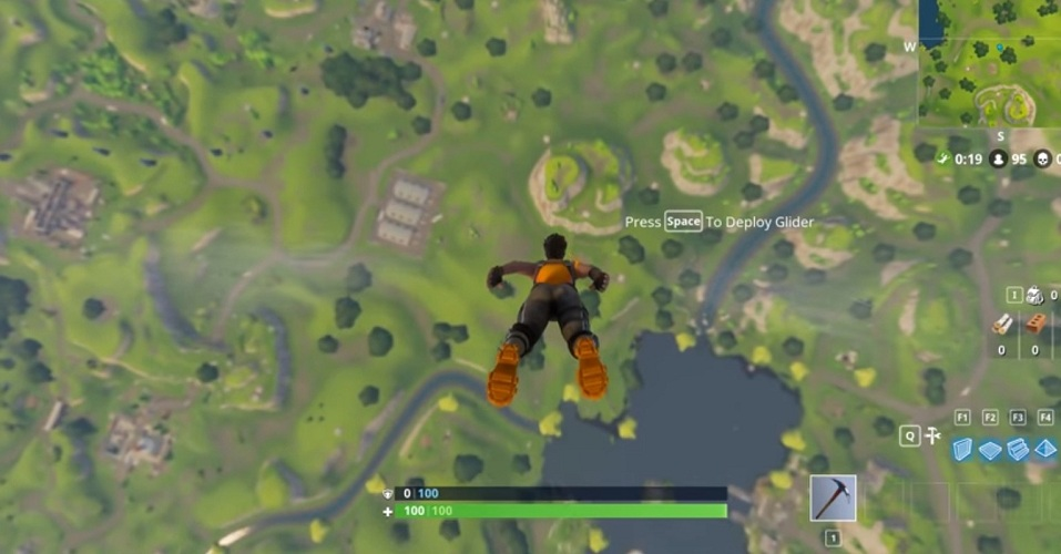Fortnite's Battle Royale Had Over One Million Players at Launch