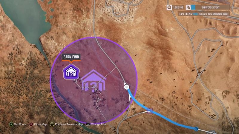 All 15 Barn Finds Locations Forza Horizon 3