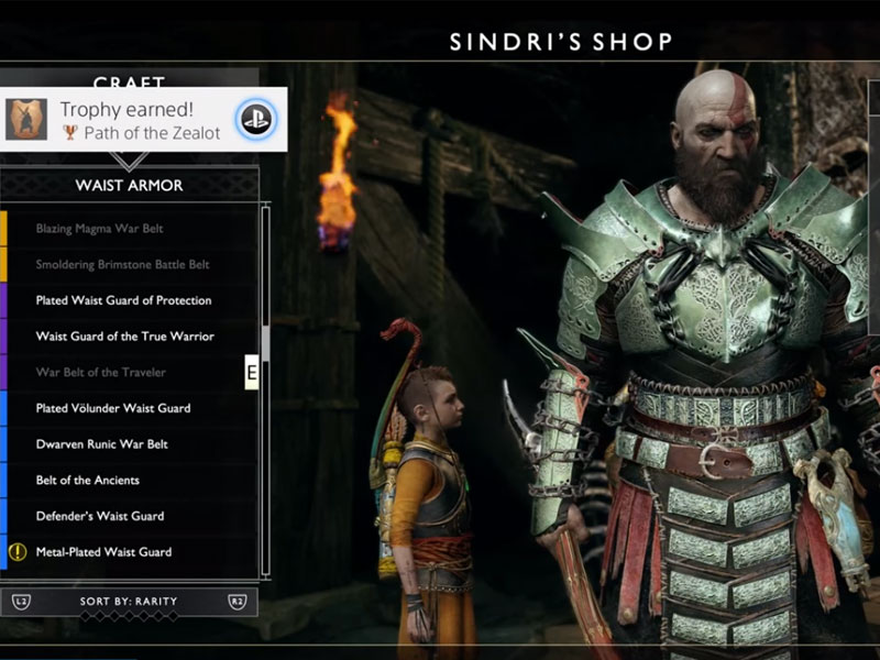 5 Best Armor Sets Location In God Of War How To Unlock Them