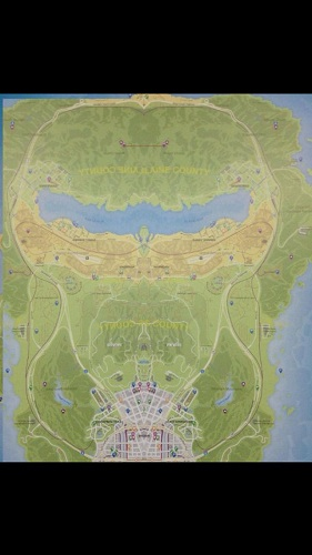 GTA V Hidden Alien Picture on Map