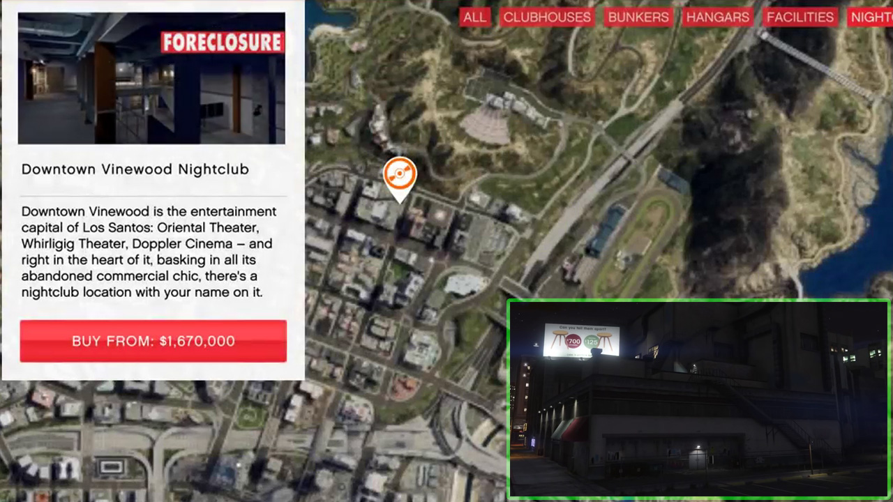 GTA Online After Hours Nightclub Location Guide