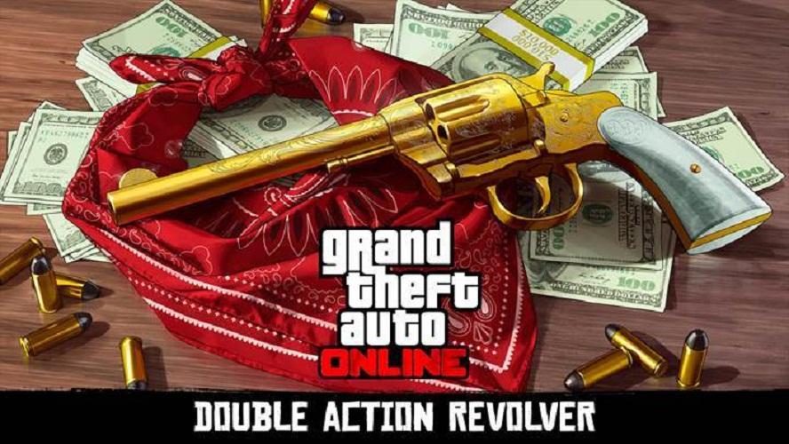 Red Dead Redemption 2 Revolver - How To Unlock It In GTA Online