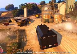 Doomsday Heist Act 2 Riot Control Van