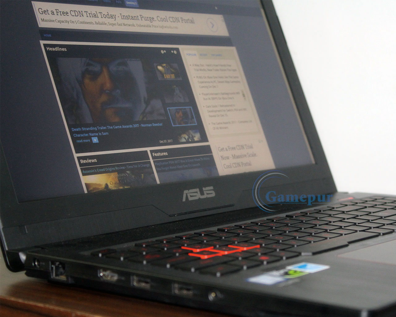 Asus FX503VD Review - i7 Gaming Laptop With Intelligent