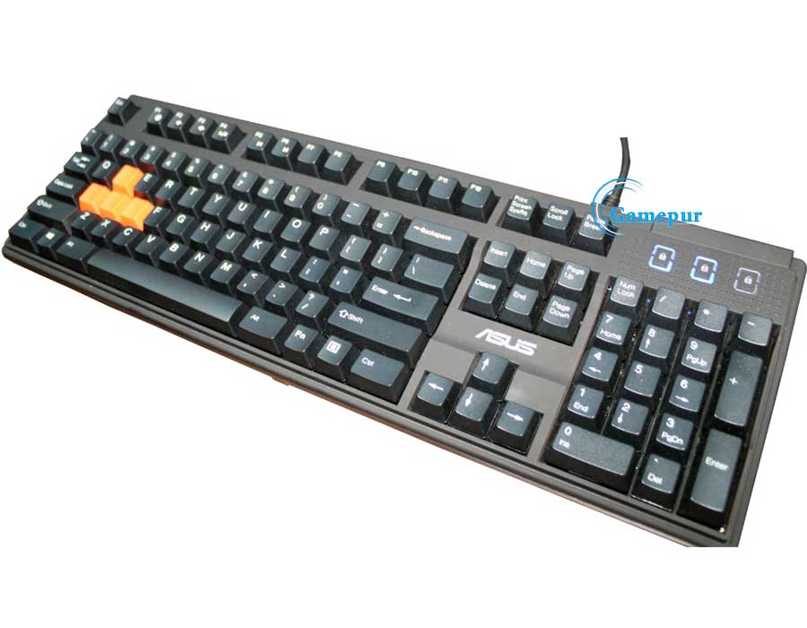 Asus GT51CA Gaming Keyboard
