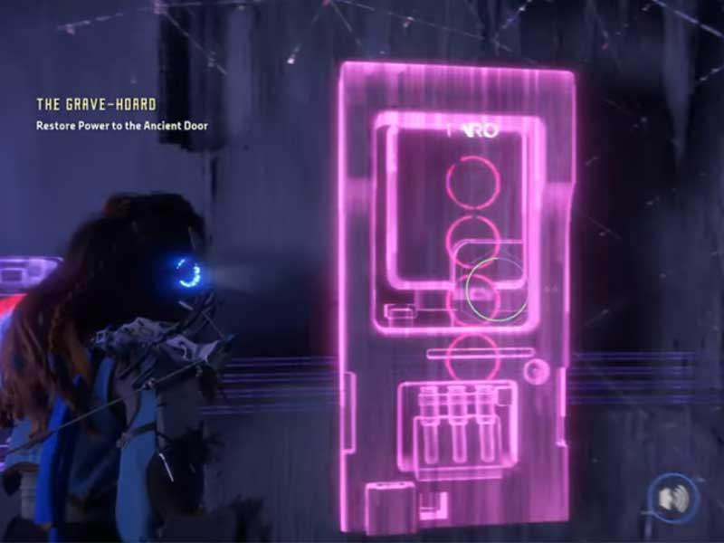 How To Unlock A Locked Door >> Horizon Zero Dawn Walkthrough Quest: Grave-Hoard, Into Borderlands and Sun Shall Fall