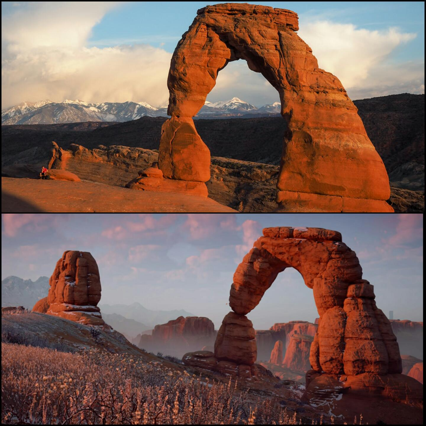 Canyon Vs Colorado >> Horizon: Zero Dawn Real Life vs In-Game Location Comparison, Guerrilla Games Nailed It To Perfection