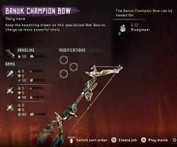 Champion Bow Frozen Wilds