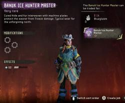 Frozen Wilds Banuk Ice Hunter Outfit