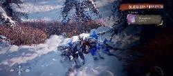 Horizon Zero Dawn Frozen Wilds Bluegleam 2 Songs Edge 2 Bluegleam