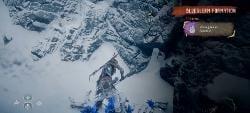 Horizon Zero Dawn Frozen Wilds Bluegleam 4 Deep Dim 2nd Location 1 Bluegleam