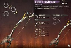 Striker Bow Frozen Wilds