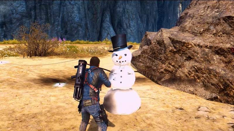 just cause 3 easter egg snowman 3