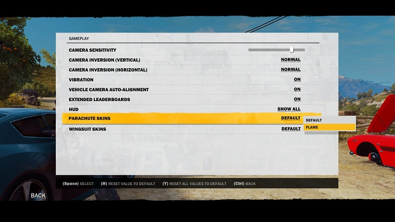 <b>Just Cause 3</b>: How to get the Flame Wingsuit And Parachute Skins
