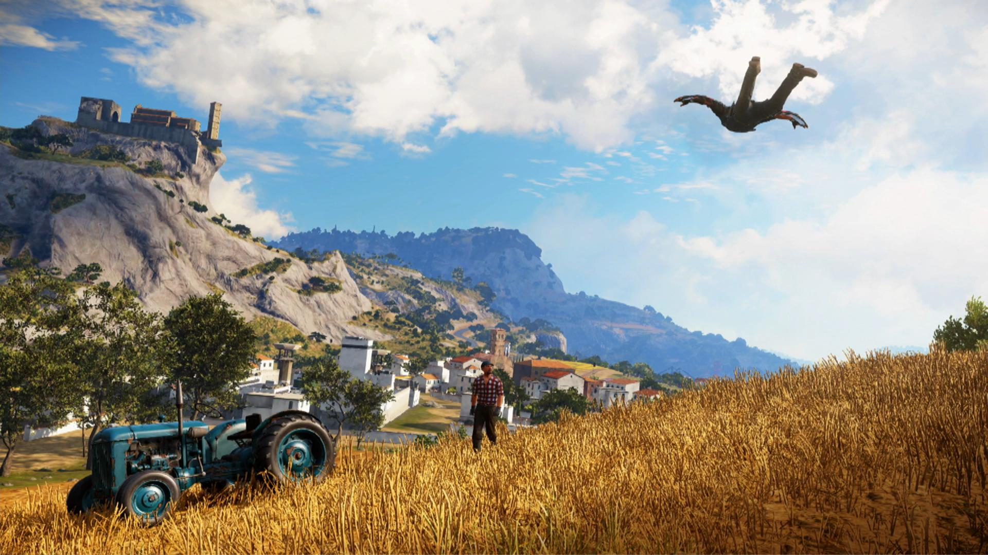 new just cause 3 ps4 xbox one screenshots shows. Black Bedroom Furniture Sets. Home Design Ideas