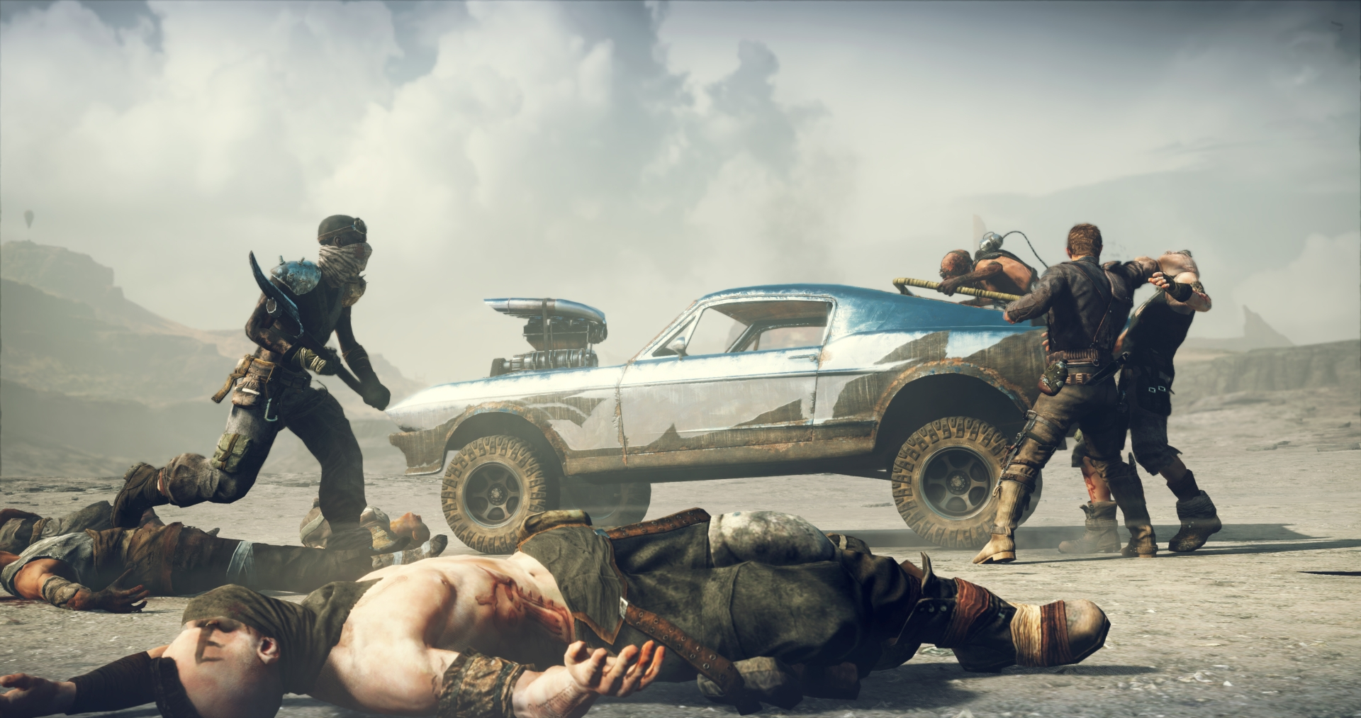 first mad max ps4 gameplay trailer screenshots released deep car customization vehicular. Black Bedroom Furniture Sets. Home Design Ideas