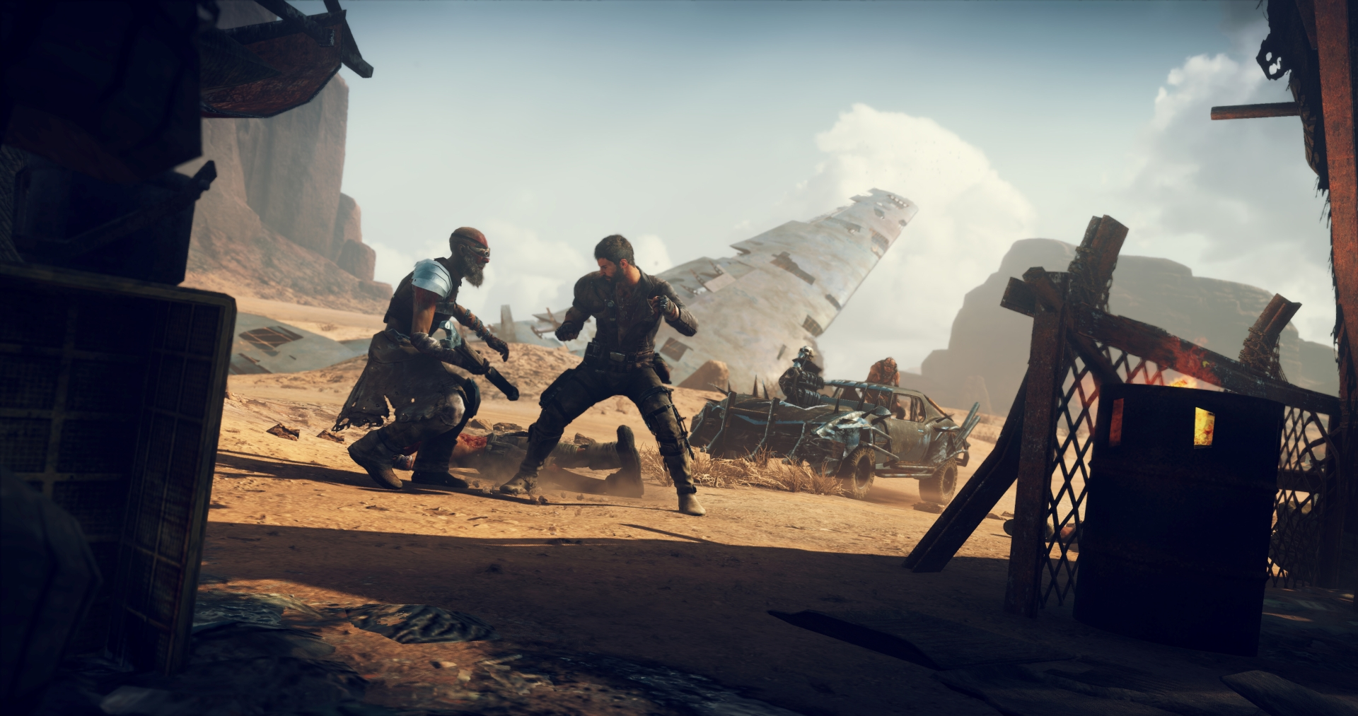 Mad Max the game lacks the charm and detail of Fury