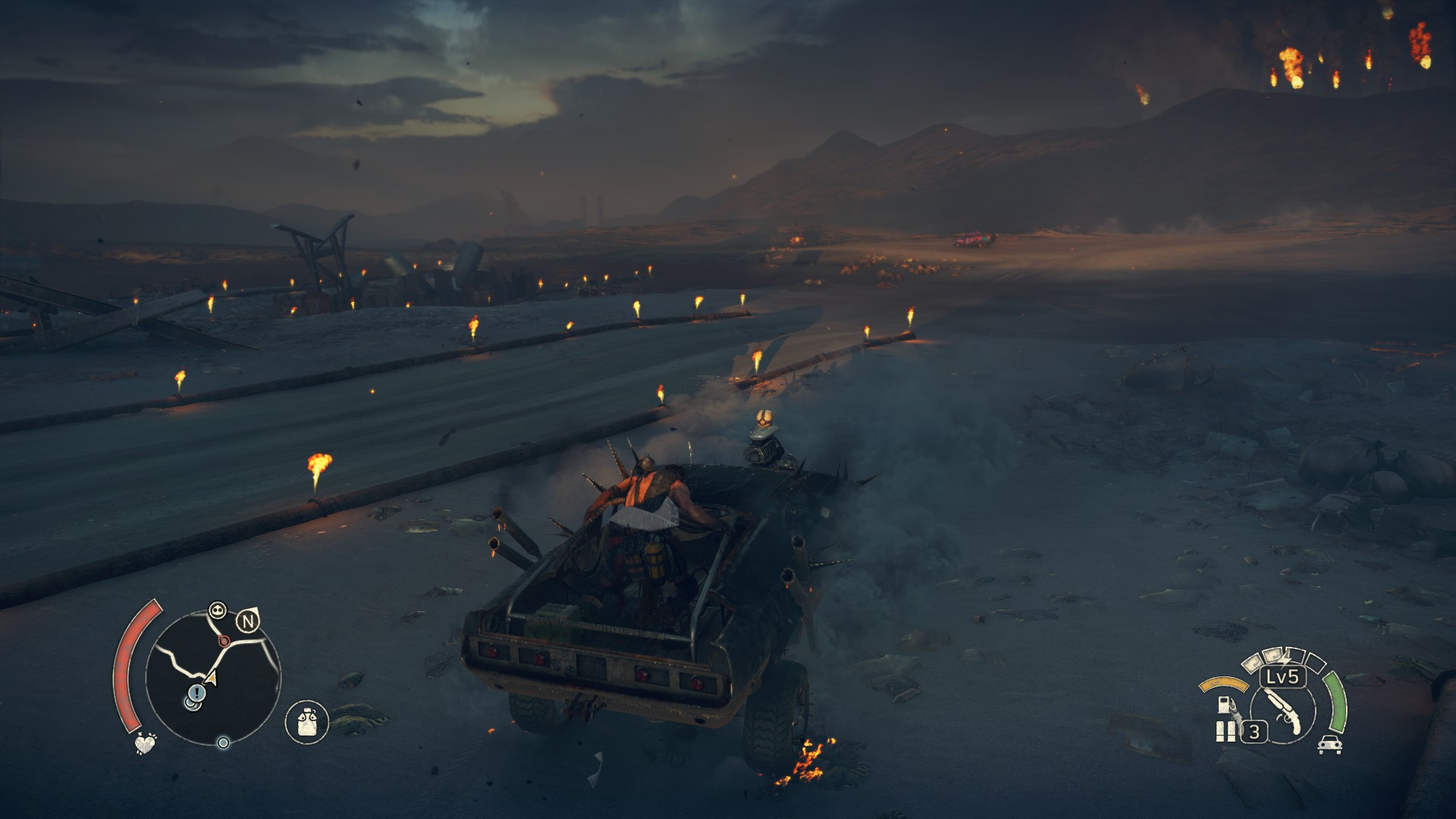 Mad Max: How to play in First-Person mode in PC