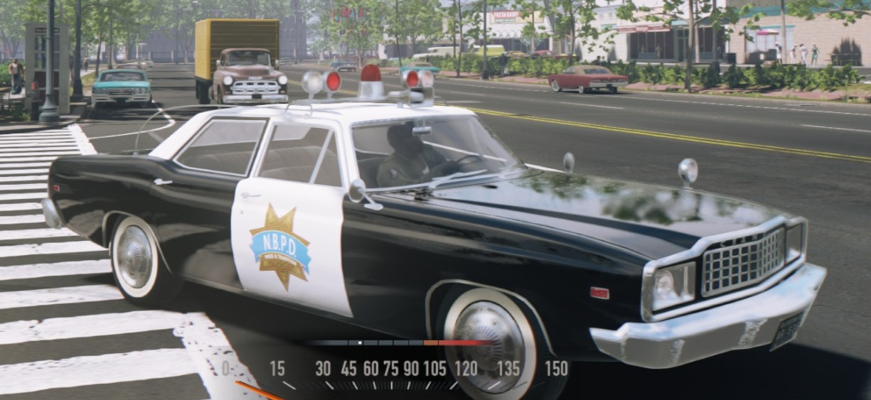 how to activate police car sirens and lights mafia 3