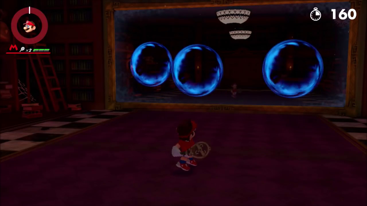 Mario Tennis Aces Reflection Room Puzzle Solution The