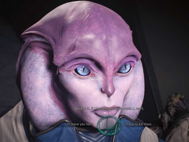 Andromeda The Lost Scout Side Quest