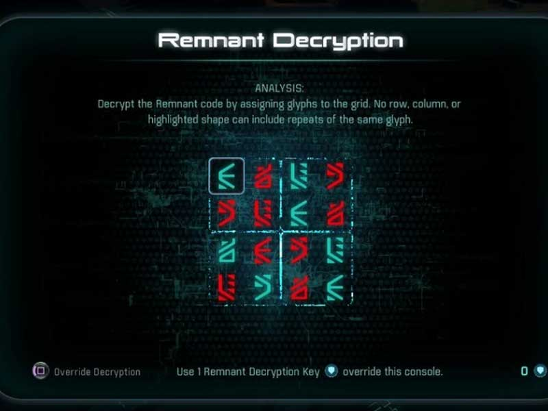 Mass effect andromeda all remnant puzzle solutions andromeda decryption puzzle malvernweather Gallery