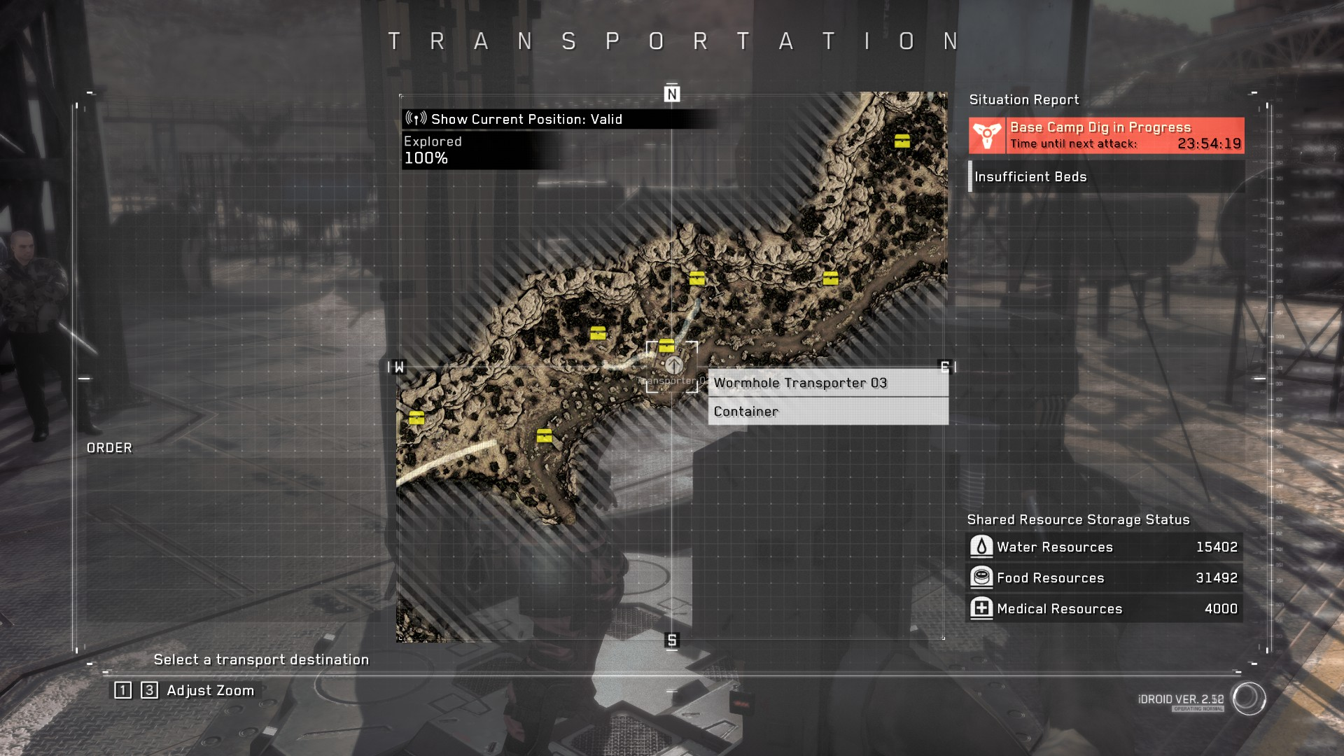 Metal Gear Survive Containers Location Guide