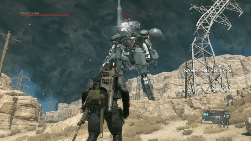 MGS V: The Phantom Pain How to Defeat the Sahelanthropus in Mission 31