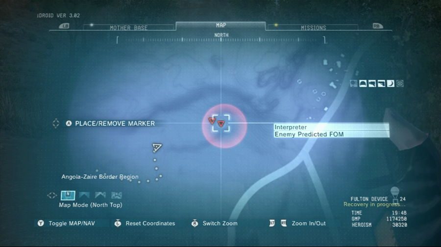mgsv how to get the wormhole fulton