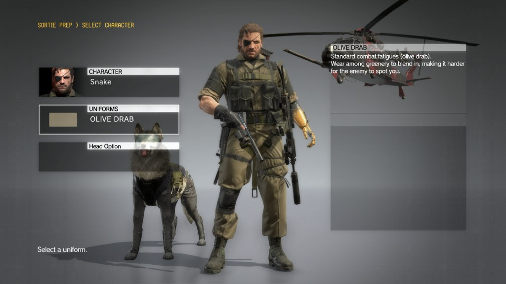 the-phantom-pain-olive-drab-costume.jpg & MGS V: The Phantom Pain Snake Costume Guide: How To Unlock All ...