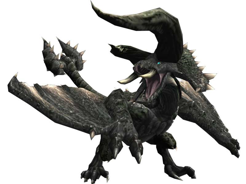 Monster Hunter World Black Diablos