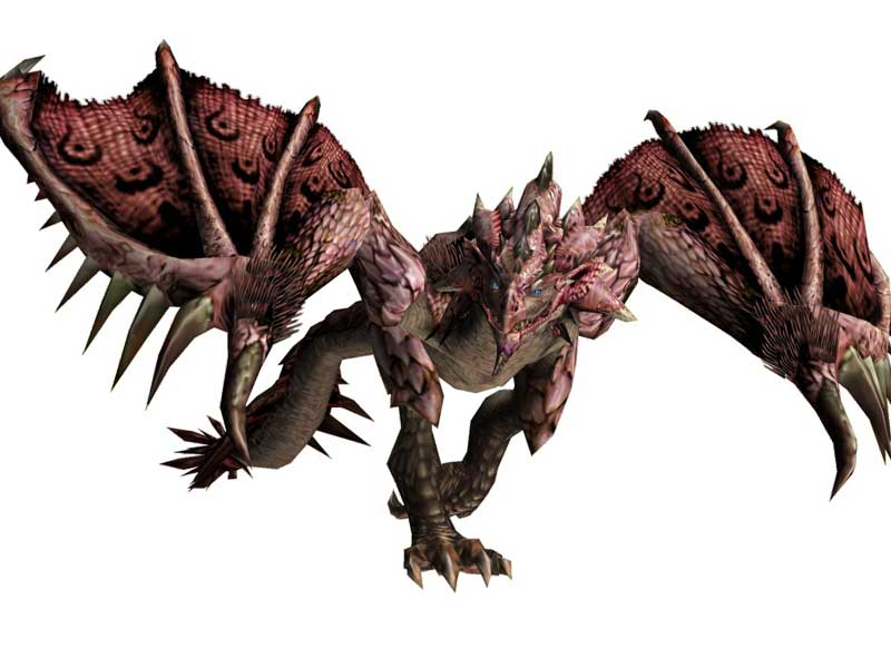 Monster Hunter World Pink Rathian