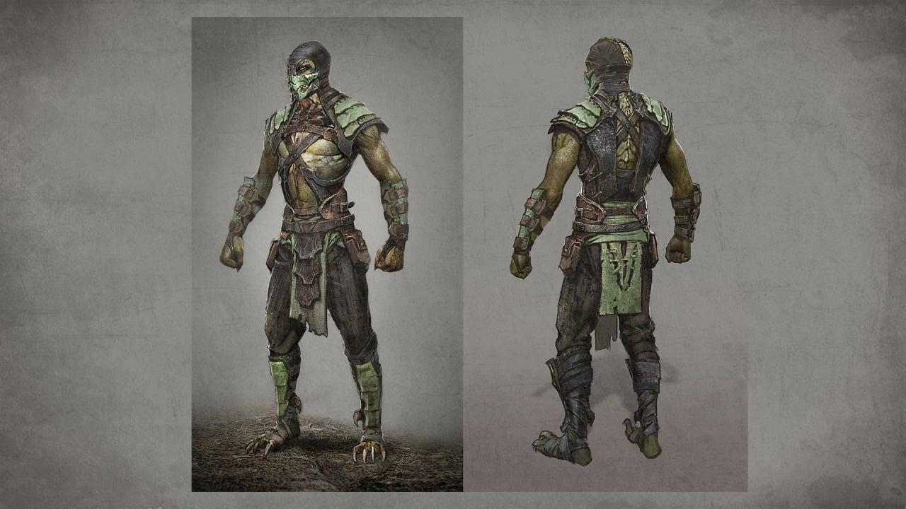 Mortal Kombat X Won t Feature Jade  Concept Art And Alternate Costumes    Mortal Kombat 9 Reptile Alternate Costume