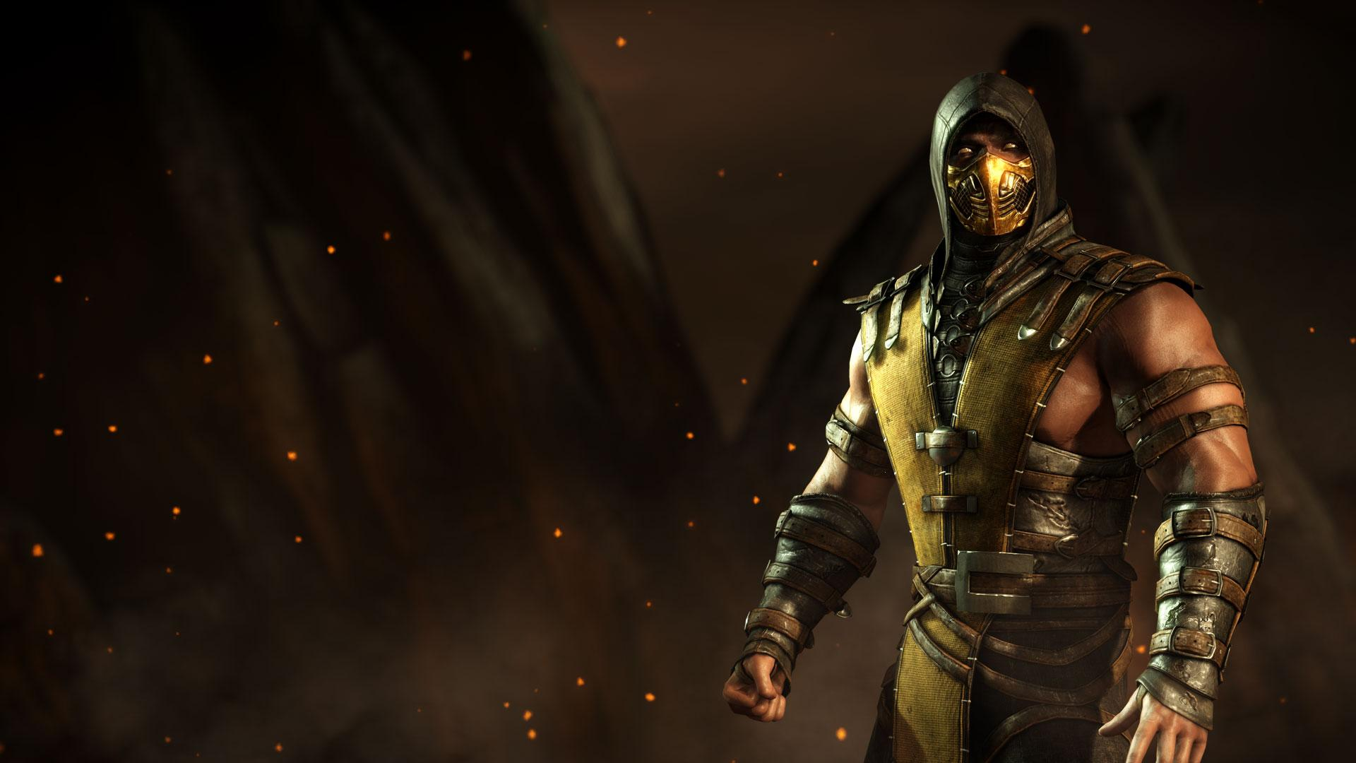 Mortal Kombat X Scorpio 3d Cool Video Games Wallpapers: Mortal Kombat X On PS4: Amazon Shares 10 Characters Bio