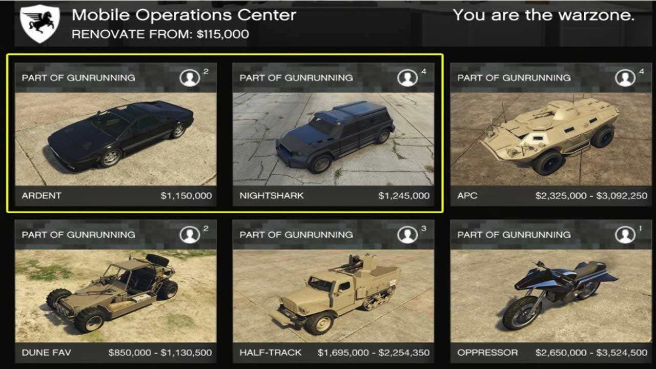 Leaked Unreleased Vehicles And Price Of Gta Online